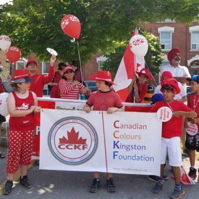 Image: CCKF at the Kingston Canada Day Parade 2018