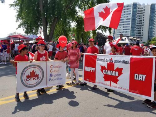 Kingston Canada Day Parade 2018