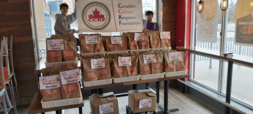 CCKF Food Drive 2020 - Donated Food 2