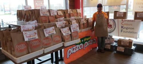 CCKF Food Drive 2020 - Donated Food