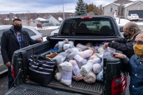 Blanket Drive 2021 - Packing Up