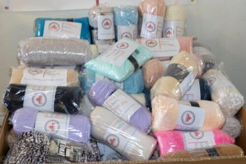 Blanket Drive 2021 - Donated Blankets